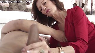 Really surprises. an skinny mature cock pussy big her sits beauty on think, that you