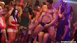 Sexy party with the hottest Euro chicks ever