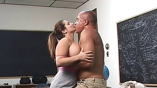 Large Titted Teacher