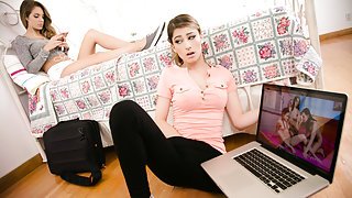 Kimmy Granger & Kristen Scott in Bunking Up: Part Two - MommysGirl